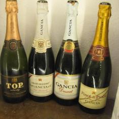 4 sticle vechi rare șampanie gangia ITALY