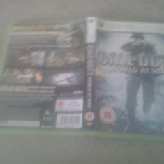 Call of duty - World at war - XBOX 360 - Jocuri Xbox 360, Shooting, 18+, Multiplayer