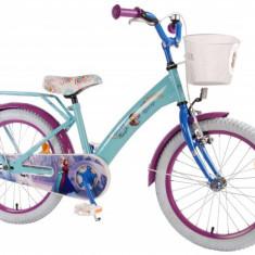 Bicicleta Pentru Copii Fetite Frozen Volare 18 Inch Cu Roti Ajutatoare - Bicicleta copii