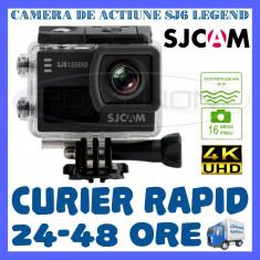CAMERA DE ACTIUNE SPORT SJ6 LEGEND 4K 2160P, 16 MPX, ACCESORII DE FIXARE