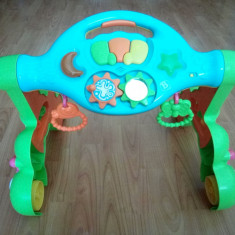 Premergator New Classic Toys cu sunet si lumini 3 in 1, Verde