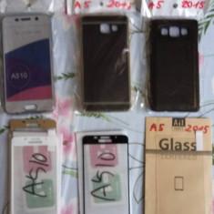 Husa + Folie Sticla A5 2015/2016 - Husa Telefon Accessorize, Samsung Galaxy A5
