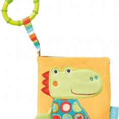 Carte din plus pentru bebe - Crocodil