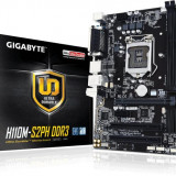Placa de baza Gigabyte GA-H110M-S2PH DDR3, Socket LGA 1151, Chipset Intel H110, Micro ATX