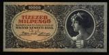 UNGARIA 10.000 MIL PENGO ZECE MII DE MILIOANE PENGHEI 1946 UNC NECIRCULATA
