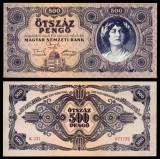 UNGARIA BANCNOTA DE 500 PENGO 1945 UNC NECIRCULATA
