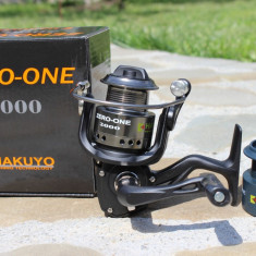 Mulineta HAKUYO ZERO ONE 2000 Tambur de 2000 Seria 2017 Black One 6 Rulmenti, Lansat, stationar
