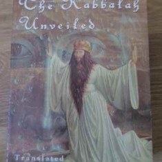 The Kabbalah Unveiled - Translated By S.l. Macgregor Mathers, 396514 - Carti Budism