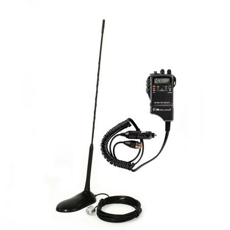Kit Statie radio CB Midland Alan 52 + Antena PNI Extra 45 MID-PACK21