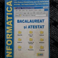 Informatica - Bacalaureat Si Atestat   Niculescu , Cerchez