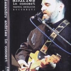 Caseta audio: Alexandru Andries - In concert (1997 - stare foarte buna) - Muzica Folk, Casete audio