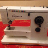 Masina electrica de cusut Nicoleta-portabila ca nouă - Masina de cusut