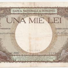 ROMANIA 1000 LEI 1938 F - Bancnota romaneasca