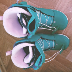 Boots Snowboard Salomon Ivy Green, Marime: 39