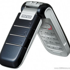 Vand Alcatel E220 Dark Blue 10 Ron, Codat Movistar, Fara Capac Baterie - Telefon Alcatel, Albastru, Nu se aplica, Fara procesor