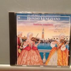 RONDO VENEZIANO - FANTASIA VENEZIANA(1986/ARIOLA/RFG ) - CD ORIGINAL/ ca Nou