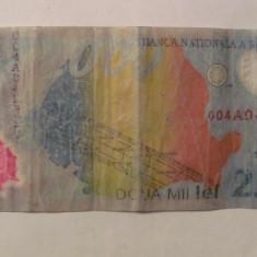 CY - 2000 lei 1999 Romania / polimer - Bancnota romaneasca
