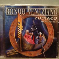 RONDO VENEZIANO - ZODIACO(1998/ARIOLA-CLEO /GERMANY ) - CD ORIGINAL/Sigilat/Nou - Muzica Clasica