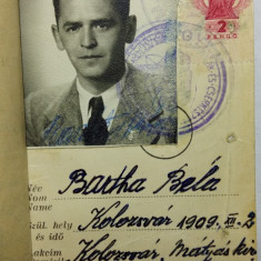 AVIATOR - AVIATIE - AERONAUTICA - BREVET PENTRU PILOT ZBOR FARA MOTOR - AN 1943 - Pasaport/Document
