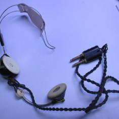 Casca telefonista galene casti telefonice telefonica anii 60 telefon vechi - Telefon fix