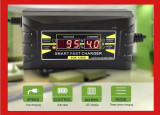 Redresor auto automat 12V, 6A, display LCD, Sub 8