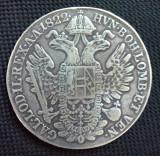 SV * Austria  THALER 1822 A  Imparatul Francisc I   ARGINT .900     (stare buna), Europa