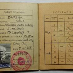 AVIATOR - AVIATIE - AERONAUTICA - ASOC. VOLUNTARA PTR. APARAREA PATRIE - CARNET - Pasaport/Document