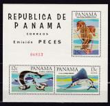 Panama 1965 fauna marina  MI  bl.43    MNH  w43, Nestampilat
