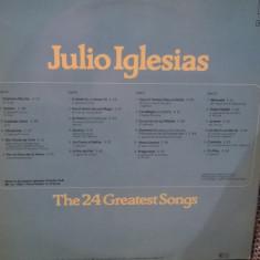 Julio Iglesias - The 24 Greatest Songs (2 x LP 1978, CBS) Disc vinil LP original - Muzica Latino