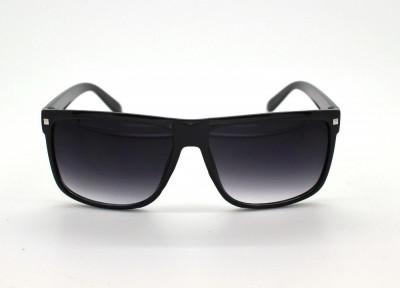 Ochelari Soare Retro Style - Unisex , Protectie UV 100% , UV400 - Negri foto