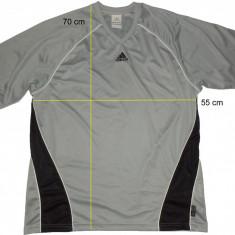 Tricou ADIDAS ClimaLite, impecabil (M spre L) cod-445199 - Tricou barbati Adidas, Marime: M/L, Culoare: Din imagine, Maneca scurta