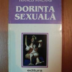 DORINTA SEXUALA de FRANCIS MACNAB, 1997 - Carte Arta populara