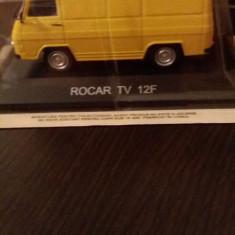 Macheta rocar tv-12f + revista masini de legenda nr. 17 - Macheta auto, 1:43