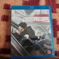 Film Mission IMPOSSIBLE GHOST PROTOCOL Blu Ray - Film actiune paramount, Engleza