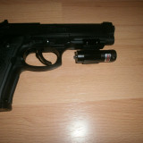 Laser pistol laser arma rosu Red point arm