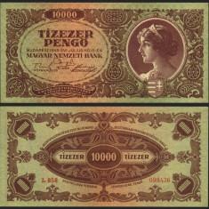 UNGARIA BANCNOTA DE 10000 PENGO 1945 UNC NECIRCULATA - bancnota europa