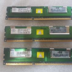 Memorie RAM NANYA 4GB PC3-10600R DDR3-1333 ECC - poze reale, 1333 mhz, Triple channel