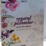 REGATUL PLANTELOR CARTE DE COLORAT 44 DE PLANSE BOTANICE DE COLECTIE