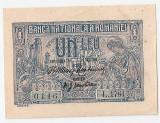 ROMANIA 1 LEU 1915 UNC VARIANTA DE CULOARE
