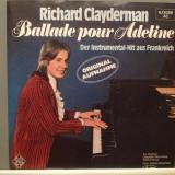 RICHARD CLAYDERMAN - BALLADE POUR ADELINE(1977/Telefunken/RFG) - VINIL/Impecabil