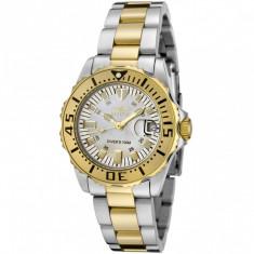 Ceas de dama Invicta 6895 Pro Diver Gold & Silver Tone - IN STOC - Ceas dama Invicta, Elegant, Quartz, Inox, Analog