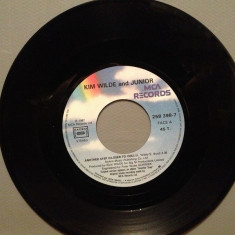 KIM WILDE and JUNIOR - ANOTHER STEP(1987/MCA REC/FRANCE) - VINIL/stare PERFECTA - Muzica Pop rca records