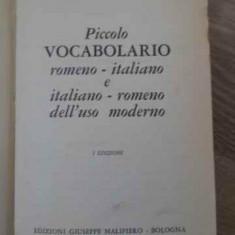 Piccolo Vocabolario Romeno-italiano E Italiano-romeno Dell'us - A. Balaci, N. Facon, G. Petronion, 396448 - Carte in italiana