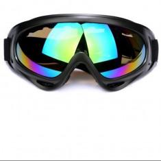 Ochelari ski, snowboard, zapada, sporturi de iarna, cu filtru uv, multicolori