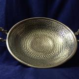 Fructiera alama manere bronz - Metal/Fonta