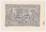 ROMANIA 1 LEU 1915 UNC