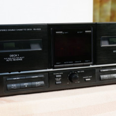 Casetofon dublu deck autorevers Technics RS-X502 - Deck audio