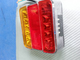 lampa stop led remorca,rulota la 12v cu 4 functi
