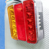 Lampa stop led remorca, rulota la 12v cu 4 functi, Universal