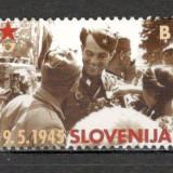 Slovenia.2005 60 ani Victoria MS.711 - Timbre straine, Nestampilat
